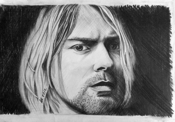 Kurt Cobain por freya7